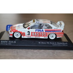 BMW 318 IS 3 24 Heures de Spa-Francorchamps 1994 Minichamps 434942403