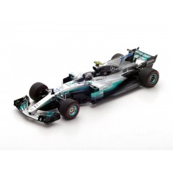 Mercedes AMG Petronas W08 EQ Power+ F1 Winner Autriche 2017 Valtteri Bottas Spark S5048