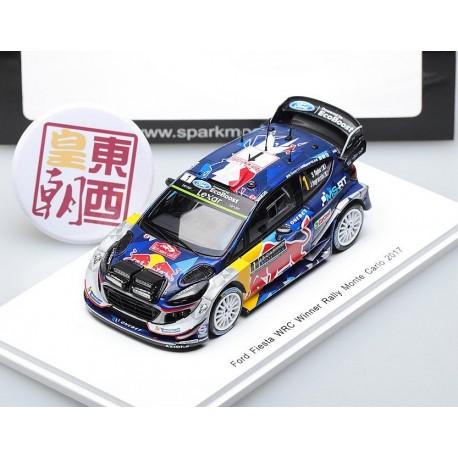Ford Fiesta WRC 1 Rallye Monte Carlo 2017 Ogier Ingrassia Spark S5154