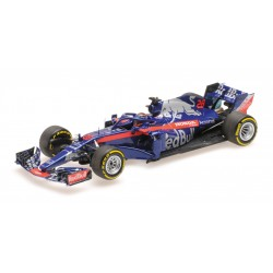 Scuderia Toro Rosso Honda F1 Showcar 2018 Brendon Hartley Minichamps 417189028