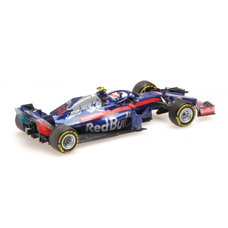 scuderia toro rosso honda f1 showcar 2018 pierre gasly minichamps 417189010 miniatures minichamps. Black Bedroom Furniture Sets. Home Design Ideas