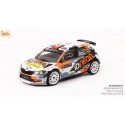Skoda Fabia R5 72 Rallye Monte Carlo 2018 Burri Levratti IXO RAM667