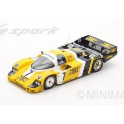 Porsche 956 7 WINNER 24 Heures du Mans 1985 Spark 18LM85