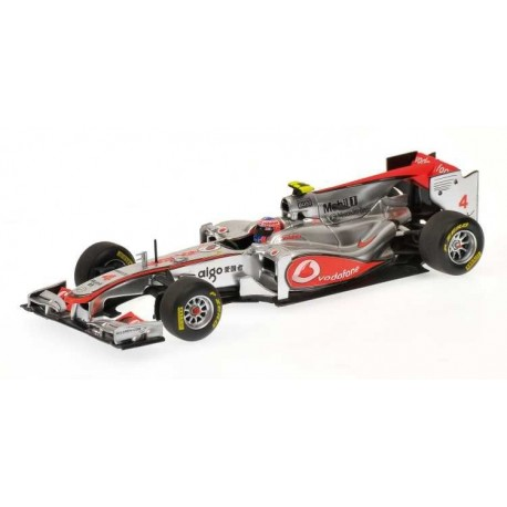McLaren Mercedes showcar F1 2011 Jenson Button Minichamps 530114374
