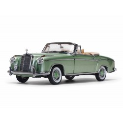 Mercedes 220 SE Cabriolet Verte 1958 Sunstar SUN3557