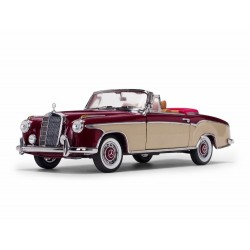 Mercedes 220 SE Cabriolet Rouge et Neige 1958 Sunstar SUN3556