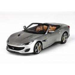 Ferrari Portofino Matt Silver Spider Version BBR BBRC207F