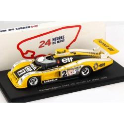 Renault Alpine A422 2 Winner 24 Heures du Mans 1978 Spark S43LM78