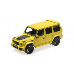 Brabus 850 6.0 Biturbo Widestar Mercedes AMG G63 2016 Yellow Minichamps 107032402