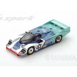 Porsche 956 47 24 Heures du Mans 1984 Spark S5506