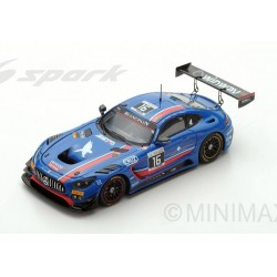 Mercedes AMG GT3 16 24 Heures de Spa Francorchamps 2017 Spark SB148