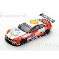BMW M6 GT3 42 24 Heures Nurburgring 2017 Spark SG362