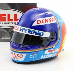 Casque 1/2 Fernando Alonso WEC Le Mans 2018 Bell 4171886