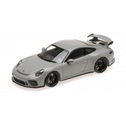 Porsche 911 GT3 2017 Grey Minichamps 410066026