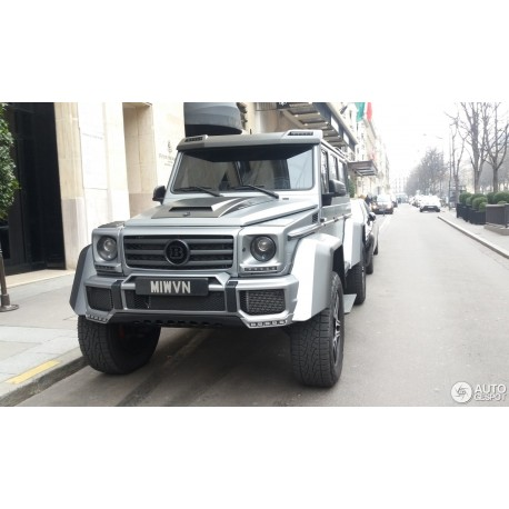 Brabus 500 Mercedes G500 4x4 Silver Almost Real ALM860302