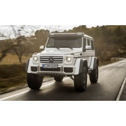 Mercedes-Benz G500 4x4 Concept Silver Almost Real ALM820204