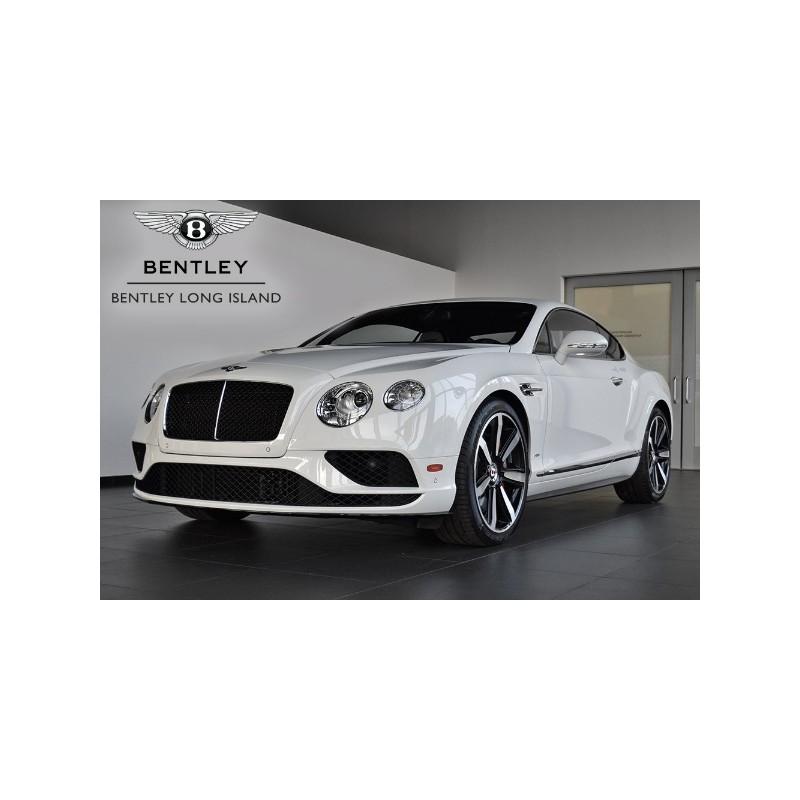 Bentley Continental GT V8 S Black Edition Glacier White