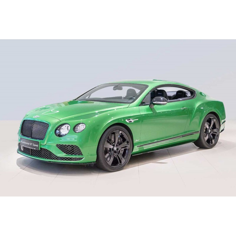 Bentley Continental GT V8 S Black Edition Apple Green