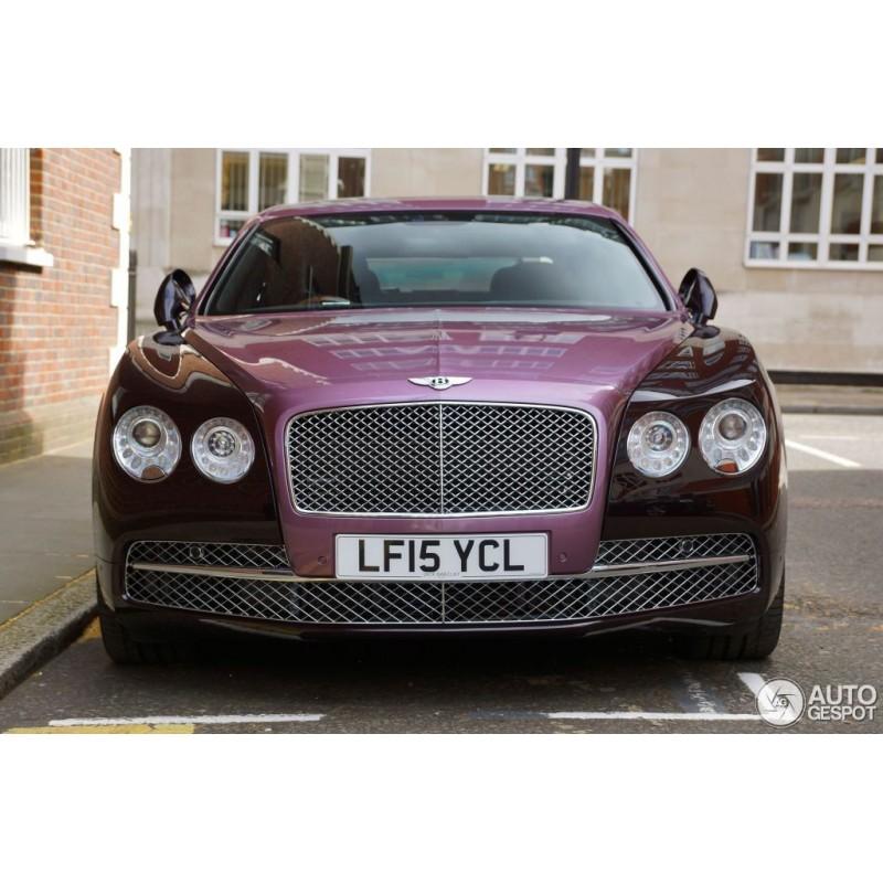 Bentley Continental GT V8 S Black Edition Magenta Almost