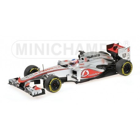 McLaren Mercedes F1 Team Showcar F1 2013 Jenson Button Minichamps 530131875