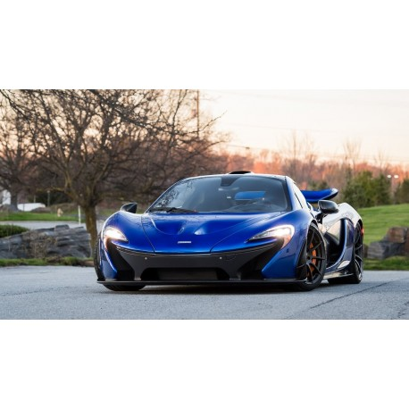 mclaren p1 gtr burton blue 1 almost real alm840116 - miniatures