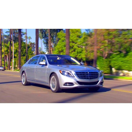 Mercedes-Benz S-Class Maybach Iridium Silver 2016 Almost Real ALM820103