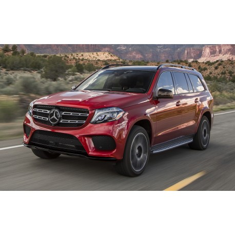 mercedes amg gls red almost real alm820302 miniatures minichamps. Black Bedroom Furniture Sets. Home Design Ideas