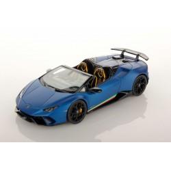 Lamborghini Huracan Performante Spyder Blu Aegeus Matt Looksmart LS481A