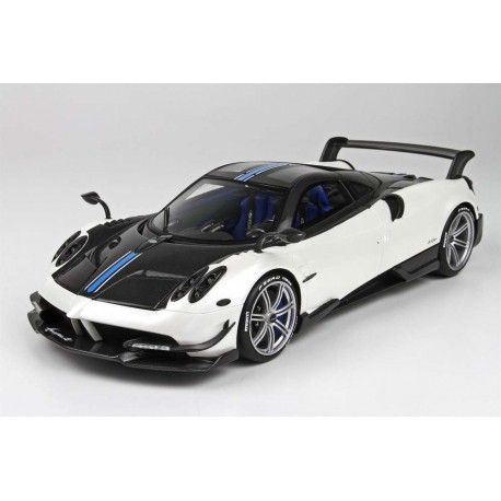 pagani huayra bc white 2016 almost real alm450101 - miniatures