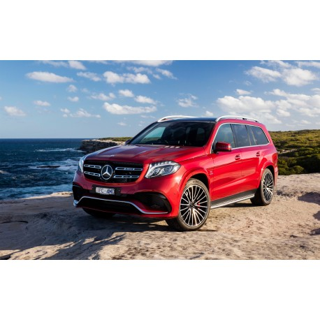 mercedes amg gls red almost real alm420302 miniatures minichamps. Black Bedroom Furniture Sets. Home Design Ideas