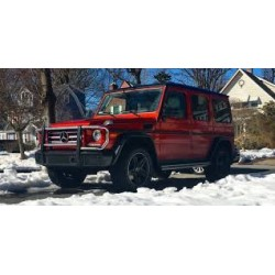 Mercedes-Benz G500 4x4 Concept China Year Edition Red Metallic Almost Real ALM420205