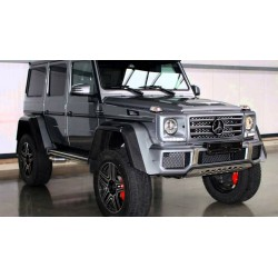 Mercedes-Benz G500 4x4 Concept Silver Almost Real ALM420204