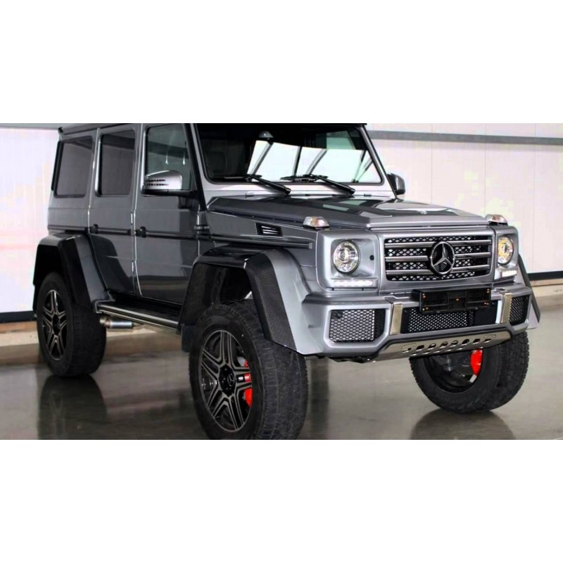 Mercedes-Benz G500 4x4 Concept Silver Almost Real ...