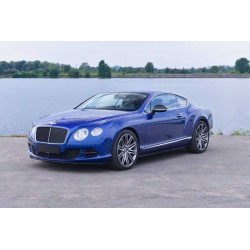 Bentley Continental GT V8 S Black Edition Sequin Blue Almost Real ALM430705