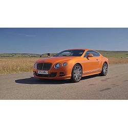 Bentley Continental GT V8 S Black Edition Orange Flame Almost Real ALM430703