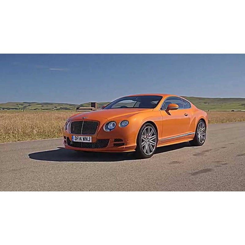 Bentley Continental GT V8 S Black Edition Orange Flame