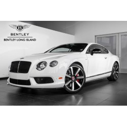 Bentley Continental GT V8 S Black Edition Glacier White Almost Real ALM430702