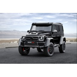 Brabus 500 Mercedes G500 4x4 Obsidian Black Almost Real ALM460303