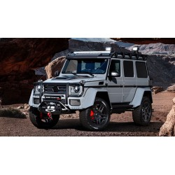 Brabus Adventure 500 Mercedes G500 4x4 Silver Almost Real ALM460302