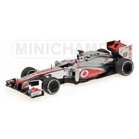 McLaren Mercedes MP4/28 F1 2013 Jenson Button Minichamps 530134305