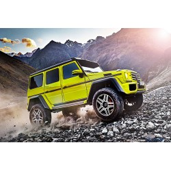 Brabus 500 Mercedes G500 4x4 Sunbeam Yellow Almost Real ALM460301