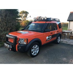 Land Rover Discovery Camel Trophy Red Almost Real ALM410404