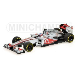 McLaren Mercedes F1 Team Showcar F1 2013 Jenson Button Minichamps 530134375