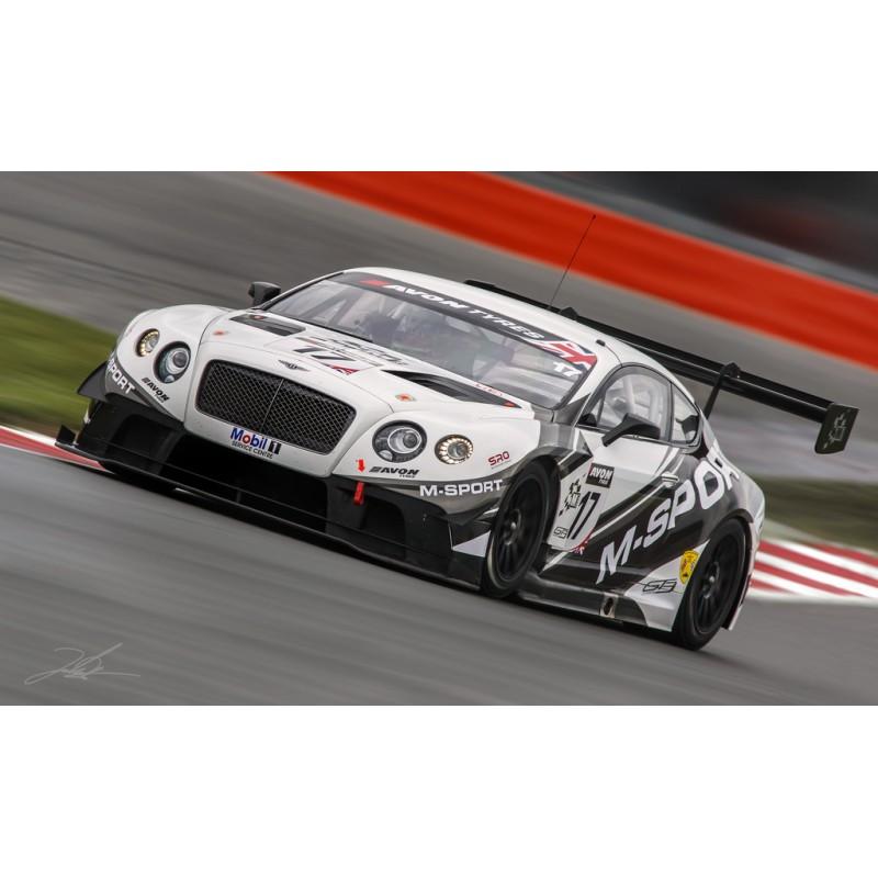 Bentley Continental GT3 17 British GT Championship