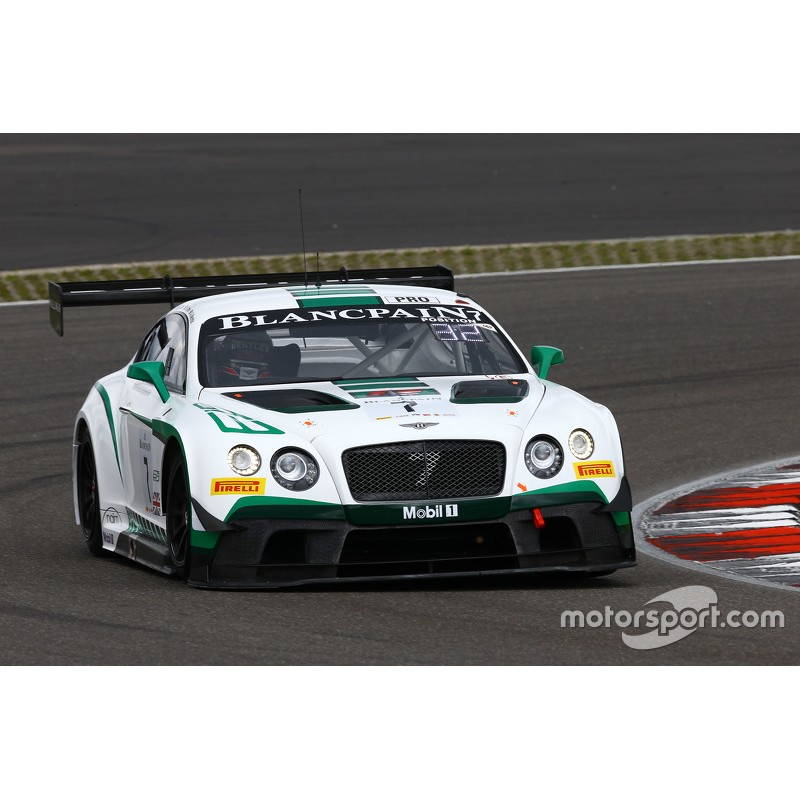 Bentley Continental GT3 7 Blancpain Endurance Series 2015