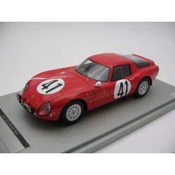 Alfa Romeo TZ2 41 24 Heures du Mans 1965 Tecnomodel TM1865B