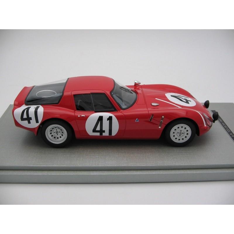 Alfa Romeo TZ2 41 24 Heures Du Mans 1965 Tecnomodel