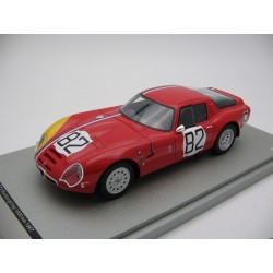 Alfa Romeo TZ2 82 1000 Km du Nurburging 1967 Tecnomodel TM1865D