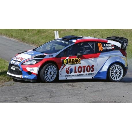 Ford Fiesta RS 10 WRC Rallye d'Allemagne 2014 Kubica Szczepaniak IXO RAM595