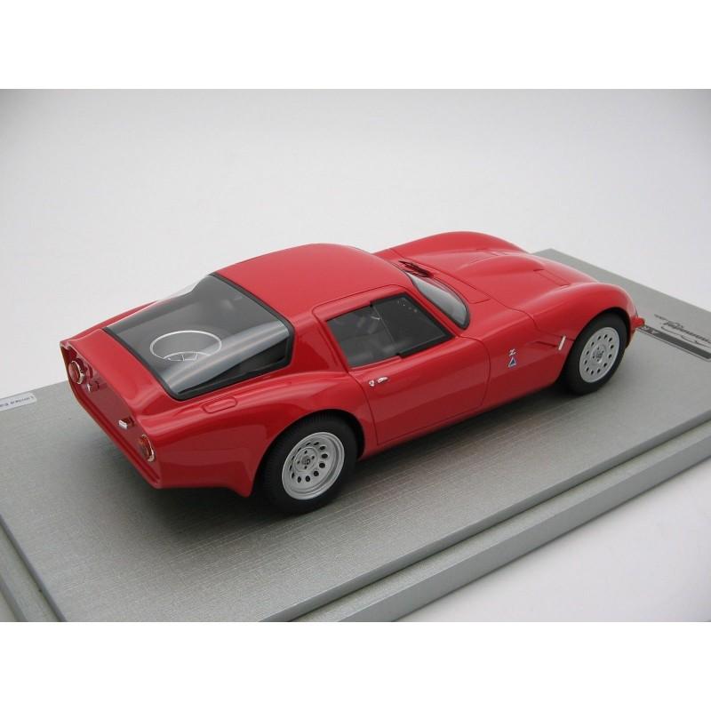 Alfa Romeo TZ2 Press Version Rosso 1965 Tecnomodel TM1865A